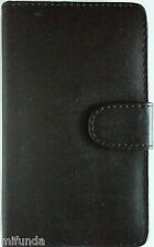 FUNDA TIPO LIBRO POLIPIEL NEGRA PARA SAMSUNG GALAXY NOTE N7000-i9220 BOOK CASE