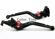 CNC Black Adjustable Long Clutch Brake Lever For APRILIA RS125 RS125 2006-2010