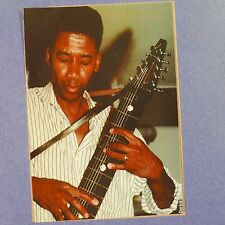 POP-CARD feat. ALPHONSO JOHNSON / CHAPMAN STICK  , 11x15cm greeting card aax