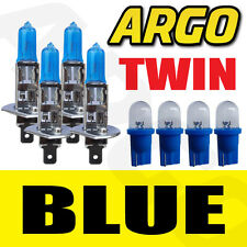 4 x H1 Xenon Azul Hielo 55w bombillas Doble Twin Pack Set Faros Kit De Reemplazo