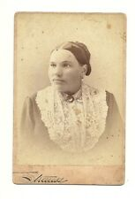 Antique Photo - Interesting Middle Aged Woman - Strauss - St. Louis
