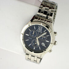 Citizen FA0020-54L Chronograph Ladies Blue Dial Stainless Steel 38mm Watch