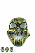Halloween Horror Pumpkin Ghost Mask Archaize Fangtooth Skull PVC Masks