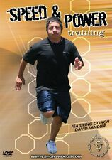Speed and Power Training DVD - Get Faster and More Powerful - Free Shipping