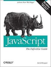 JavaScript: The Definitive Guide, David Flanagan, Good Condition, Book