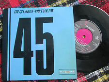 "The Questions Price You Pay Respond Records ‎KOB 702 UK 7"" Vinyl 45 Single"