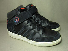 ADIDAS VARIAL MID Men's Boys' Black Leather/Suede Trainers UK 6/ EU 39.5
