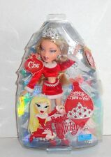 New Bratz Cloe Doll Christmas Holiday Red Santa Dress C15