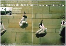 Coupure de presse Clipping 1987 (4 pages) Le Buto Art Violent Japonais