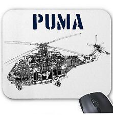 PUMA HELICOPTER - MOUSE MAT/PAD AMAZING DESIGN