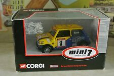 Corgi - Mini Seven - Mini Se7en Racing Club - Tim Sims - 1.36 - CC82233 - New