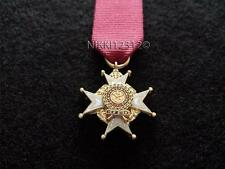 MINIATURE MOST HONOURABLE ORDER OF THE BATH CB (MILITARY) WITH RIBBON