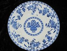 "ANTIQUE STANLEY POTTERIES SOUP or DESSERT BOWL ""Delph"" Flow Blue & White 1918"