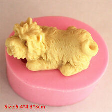 Animal Pet Dog Silicone Cake Mould Fondant Sugar Craft Chocolate Decorate Tool