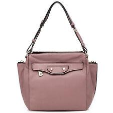 "Thompson Luxury Bags LA-Sommer-Style ""Miranda"" altrosa Tasche Handtasche UVP282€"