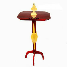 NEW Floating Table Diamond (Wooden Vase & Club Candlestick) Magic Trick Stage