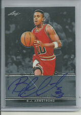 B J ARMSTRONG AUTO ON CARD 2012-13 LEAF METAL DRAFT AUTOGRAPH