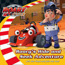 Roary the Racing Car - Hide and Seek Adventure: Lift-the-Flap Board Book  Very G