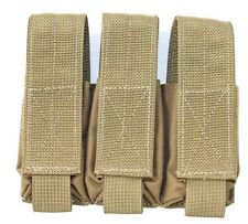 Shellback Coyote Brown Triple Pistol Mag Pouch Tactical Assault Gear TAG CRYE