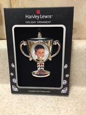 HARVEY LEWIS Made with SWAROVSKI Trophy CHRISTMAS ORNAMENT 2015 NEW