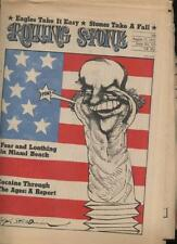 ROLLING STONE NEWSPAPER MAGAZINE - August 17 1972 COCAINE THROUGH THE AGES