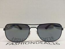 RayBan Authentic Black Mirrored Light Weight RB3524 006/6G Sunglasses