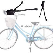 Steel Double Leg Side Bicycle Kickstand Mount  Black  HE8Y