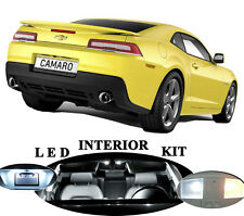 LED Package - Interior + License Plate + Reverse for Chevrolet Camaro (8 pieces)