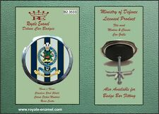 Royale Military Car Grill Badge - THE QUEEN'S REGIMENT - B2.3533