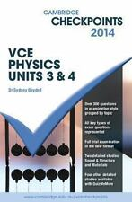 Cambridge Checkpoints, Study Guide, VCE Physics Units 3 and 4 2014, g15