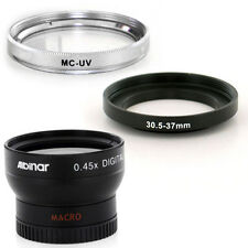 Albinar 30.5mm Wide Angle Lens,UV Filter for JVC Everio GZ-MG130,30.5 Camcorder