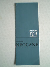 A SCARCE HARDY PALAKONA NEOCANE ADVERTISING PAMPHLET IN FRENCH