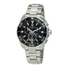Tag Heuer Aquaracer Chronograph Black Dial Mens Watch CAY111A.BA0927