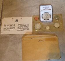 1965 Canada Proof Like 6 coin Mint set w/ NGC $1 PL65  80% silver in envelope
