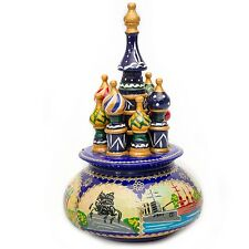 Music Box Saint Basil's Cathedral. Moscow, Red Square, Russia