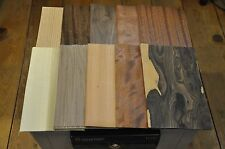 "10 Different 5""x8"" sheets of Exotic & Domestic Wood Veneer-(5 sheets each)  IC12"