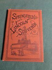1885 ILLINOIS WATCH COMPANY, Springfield, Ill. LINCOLN SOUVENIR,