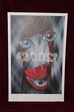 Limited Edition '2002' Lithograph Signed/Autographed By David Bowie Rex Ray