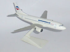 Boeing 737-300 Euro Berlin France Wooster 1990's Snap Fit Model Scale 1:180