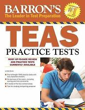 Barron's TEAS Practice Tests-ExLibrary