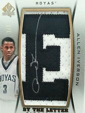 2012/13 SP Authentic, Allen Iverson, By the Letter 'E', 1/3