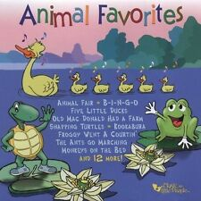 1 CENT CD Animal Favorites by Music for Little People Choir Baby Toddler Songs