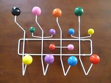 Modern Design Multi color Charles and Ray Eames Style HangItAll Wooden Coat Rack