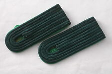 NOS! East German Germany Cadet Volkspolizei Police VOPO Pair Shoulder Board