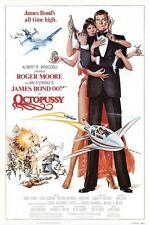 "JAMES BOND - OCTOPUSSY - MOVIE POSTER 12"" x 18"" ROGER MOORE"
