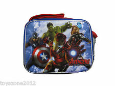 "A02262 Avengers Age of Ultron Lunch Bag 8"" x 10"""