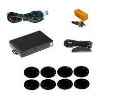 Negro 8 punto delantero y trasero Parking Sensor Kit Con Display 12v-Ford Fiesta