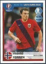PANINI ROAD TO UEFA EURO 2016- #181-NORWAY-VEGARD FORREN