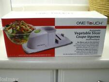 One Touch Automatic Deluxe Vegetable Slicer Battery Operated As Seen on TV