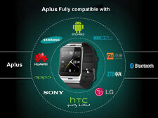 """1.5""""GV18 Aplus Touch Screen Bluetooth Smart Watch Phone NFC for Android Phone PS"""